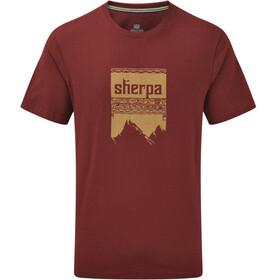 Sherpa Khangri t-shirt Heren rood